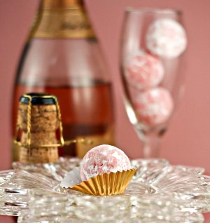 Local Food And Wine - Champagne and Chocolate